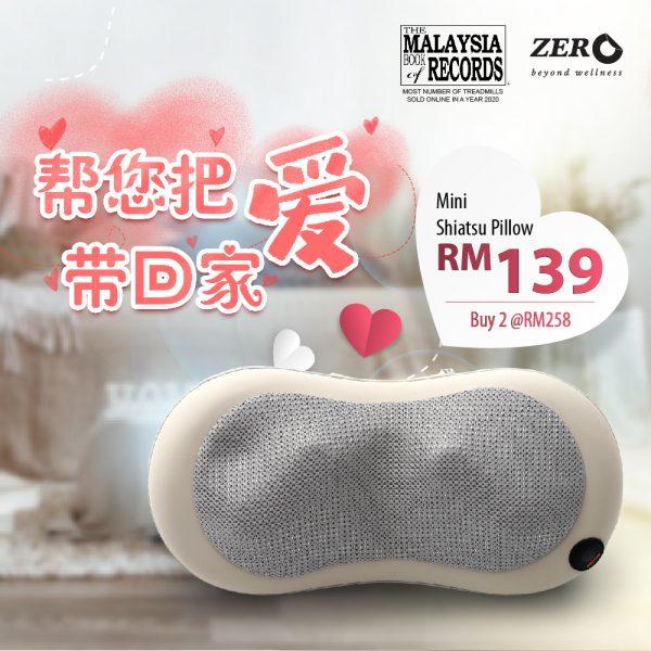 Mini Shiatsu Massage Pillow